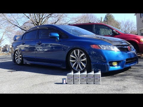 DIY: How to change oil on an Honda Civic Si 8th Gen (06-11)