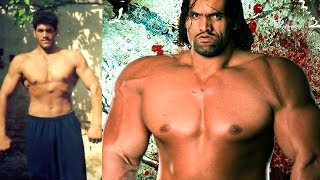 The Great Khali - Transformation and Lifestyle from 17 to 45 years old 2018