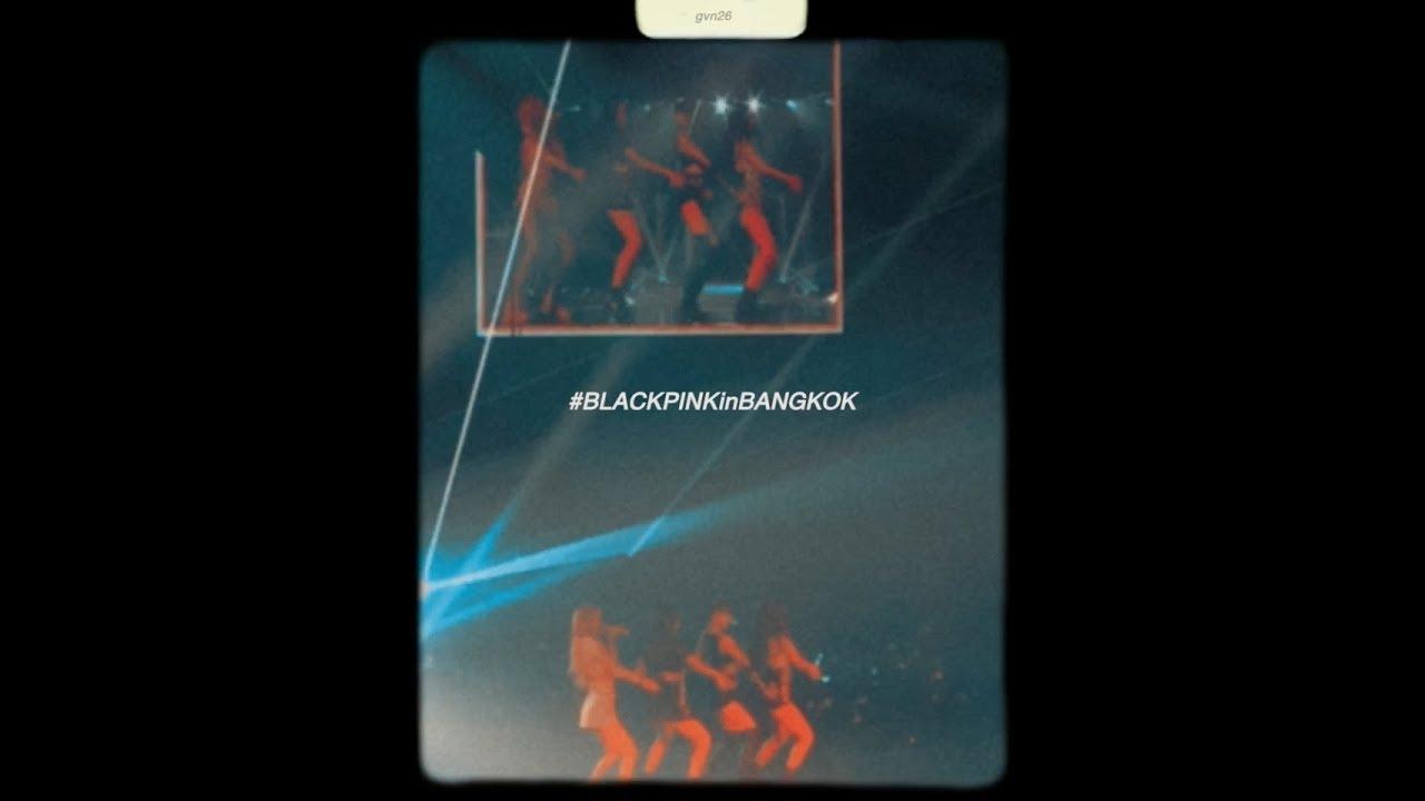 8mm🖤 BLACKPINK in BANGKOK Encore (HQsound)