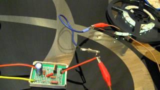 Плавное включение/выключение светодиодов