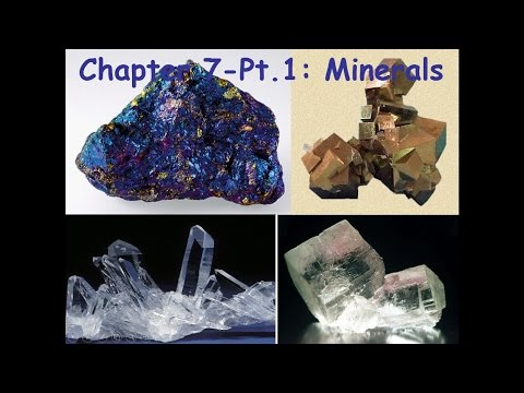 GSC1143 Week04 Lecture Ch07A Minerals
