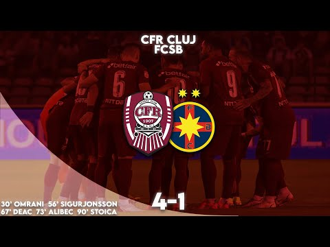 CFR Cluj FCSB Goals And Highlights
