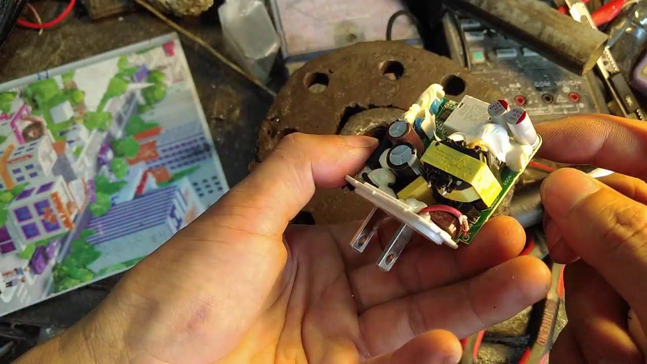 Hướng dẫn sửa củ sạc điện thoại rexmi mất nguồn ra