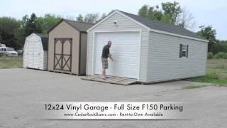 12x24 Garage F150 Parking