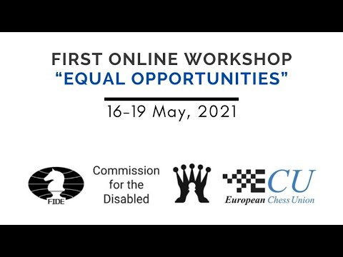 "1st Online Workshop ""Equal Opportunities"""