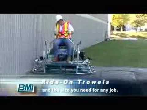 Bartell Ride-on Trowels