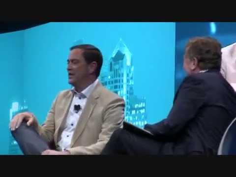 John Chambers and Chuck Robbins at CiscoLive! 2015