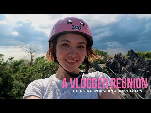 Philippine's Hidden Caves and Wildlife!! (Exploring Masungi Georeserve!!)