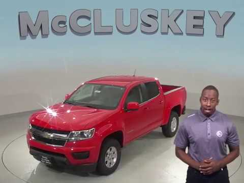 190561 New 2019 Chevrolet Colorado Work Truck 4WD Crew Cab Red Test Drive, Review, For Sale -