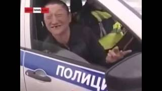 Реакция водителя на ДТП))