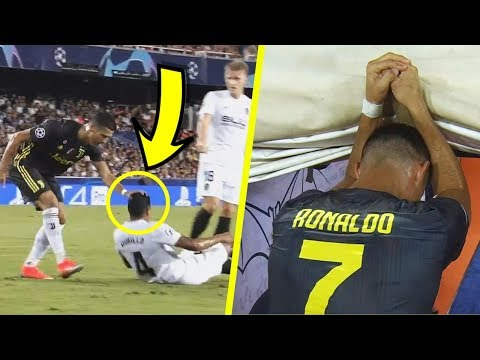 What Cristiano Ronaldo Did BEFORE and AFTER the Red Card ! 😱