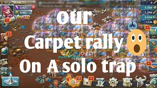 Our carpet rally and zeroing people's By Poo's Lords Mobile