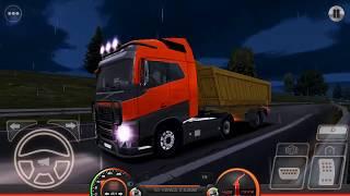 Truck Simulator : Europe 2 New Update Night Ride Android Gameplay by WandA