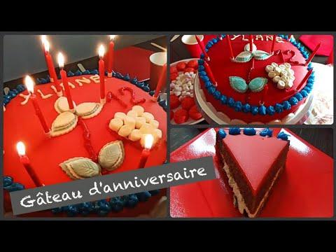 recette-gâteau-chocolat-anniversaire-decore-pâte-sucre_cake-birthday-sugar-paste_كيك-ميلاد-عجينة-سكر