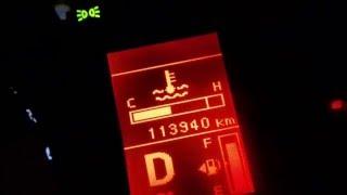 Mitsubishi lancer 2010 warning light and power cut