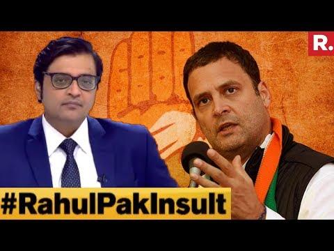 Did Rahul Gandhi Cross The Line By Comparing Judiciary To Pak? | The Debate With Arnab Goswami