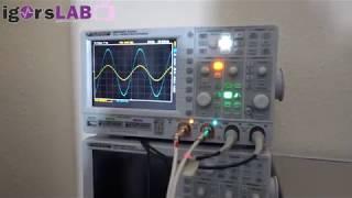 igorsLAB - Messung der tatsächlichen Ausgangsspannung Vrms an Soundkarten