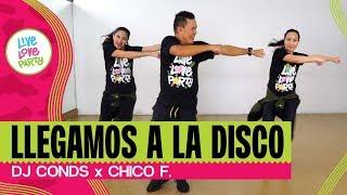 Llegamos a la Disko   Live Love Party™ feat. Winston Kristie Van   Zumba®   Dance Fitness