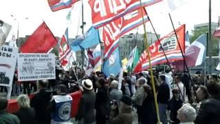 Митинг профсоюзов в Москве - 1 мая 2012 года