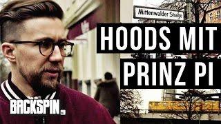 Im Westen nix Neues: Mit Prinz Pi in Kreuzberg beim ehemaligen Royal Bunker | BACKSPIN HOODS #23