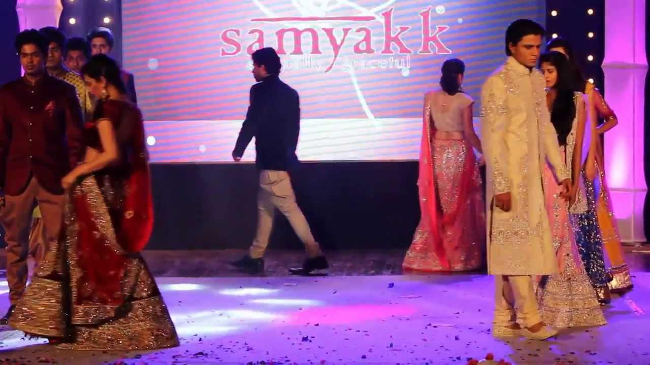 71d8b6d21f Mind Blowing Fashion Show 2014 ? Designer Womens Ethnic Lehengas| Wedding  Sherwanis Online| Samyakk - YouTube