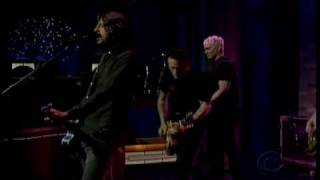Foo Fighters   The Pretender   David Letterman 2 21 08 HQ