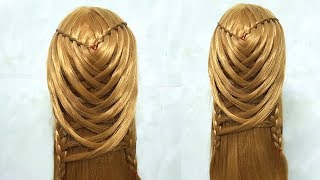 Easy hairstyle For Party || Hairstyle For occasion || Party Updos For Medium Hair || hairstyles 2019
