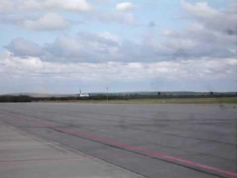 Decolagem 747- 400 em Petrolina SBPL