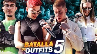 BATALLA DE OUTFITS CON SUSCRIPTORES 5!! (Rolex, Louis Vuitton, Prada, Balenciaga, Off white...)