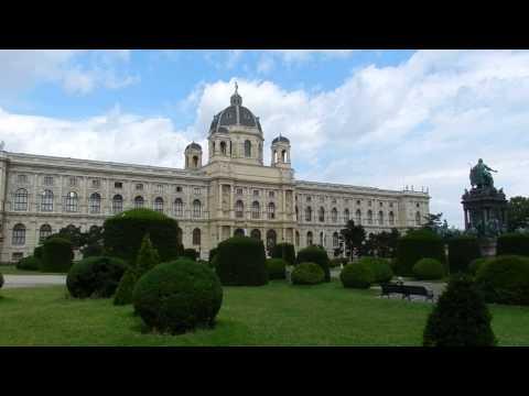 Vienna - Museum Quarter (Museumsquartier) & History Museums (Kunst, Naturhistorisches) 2015 05 19