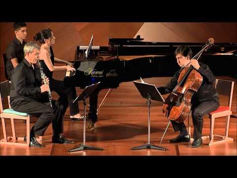 Beethoven- trio for clarinet, cello and piano op. 11. Vicent Alberola, Dragos Balan, Noelia Rodiles