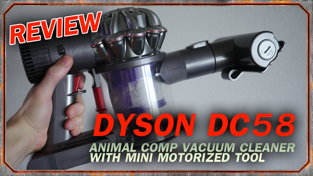 Dyson dc58 review youtube for Dyson mattress tool vs mini motorized tool