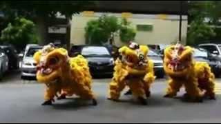 barongsai dance ala gangnam style
