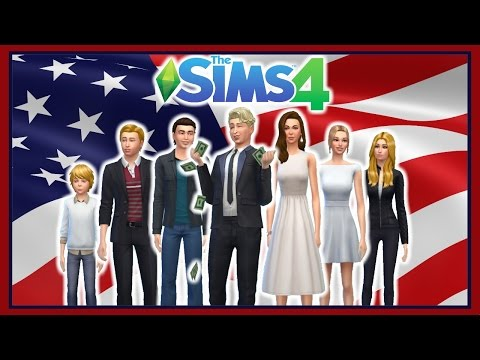 Presenting the 45th 1st Family! |The Sims 4 Trump Family CAS|