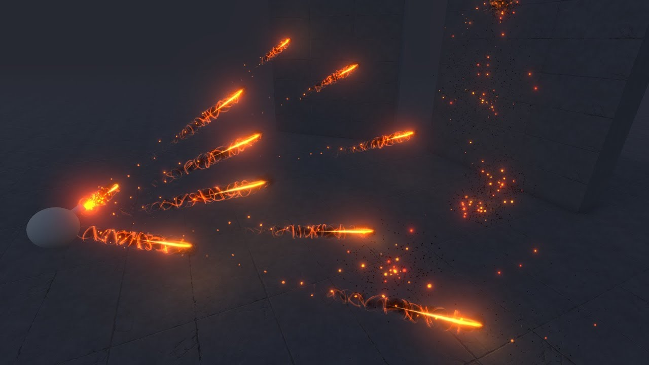 Creating Projectiles in Unity