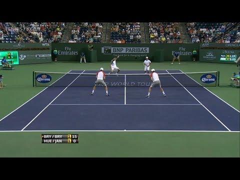 Bryan & Bryan vs Huey & Janowicz - Final Indian Wells 2013