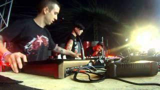 Videoset Motormorfoses aka Eto&Gab Live @ TheQontinent 2011 (Wachtebeke/BE)
