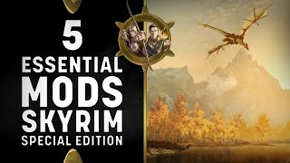 Skyrim Special Edition - 5 Essential Mods for XBOX One