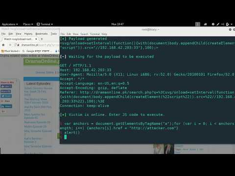 JShell - Get a JavaScript Shell with XSS - YouTube