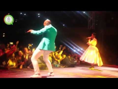 Mafikizolo wows crowd during the Sendekera Show @ the HICC #263Chat