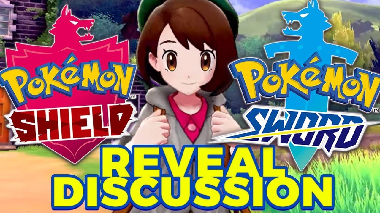 Pokemon Sword Pokemon Shield Reveal Discussion Grown Men Yell About Pokemon For 37 Mins