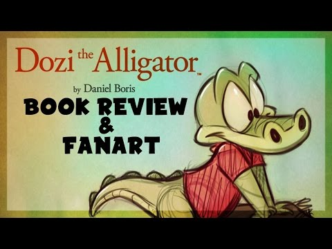Dozi the Alligator book Review & Fan-Art