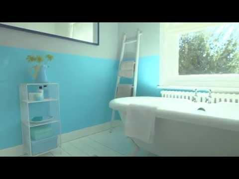 Bathroom Ideas: How to use bold colours - Dulux