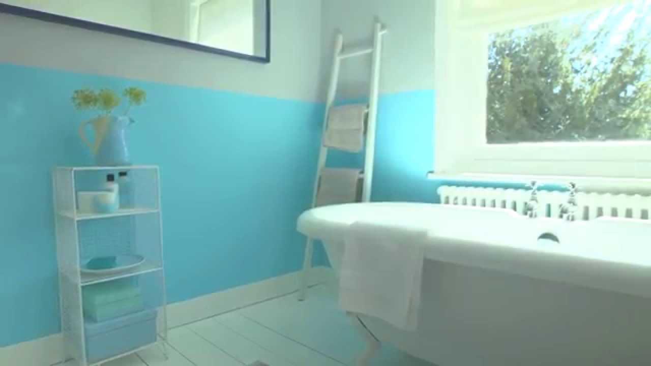 Bathroom Ideas: How To Use Bold Colours - Dulux - YouTube