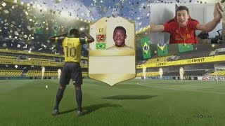 PELE IN A PACK!!! TOP 10 BEST PACKS - (FIFA 17 Pack Opening)