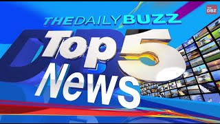 Today's Top 5 News Headlines for Monday, November 24th