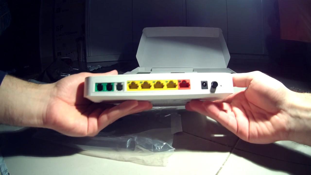 Unboxing 4k Technicolor TG789vac V2 Modem Fibra VDSL FTTc FTTh Tiscali Tim  Fastweb