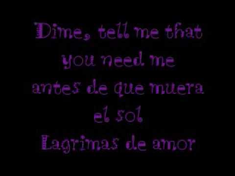 Lagrimas - JD Natasha (Lyrics)
