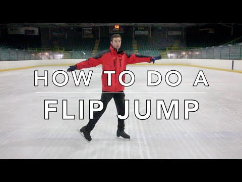 how-to-do-a-flip-jump-|-figure-skating-❄️❄️