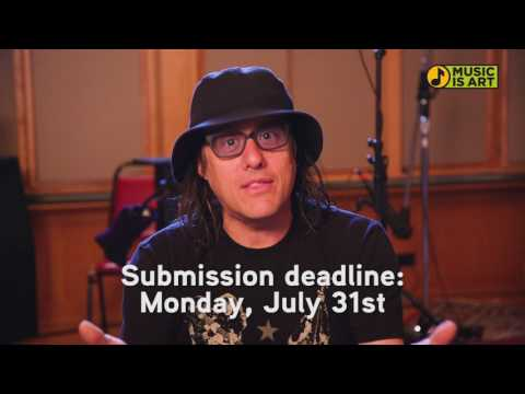 Music is Art Festival Submission Deadline: Monday, July 31st, 2017